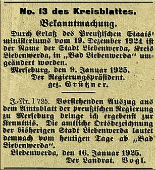 Nr. 13 Kreisblatt
