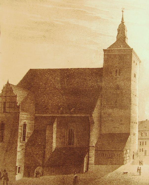 Ev. Kirche historisch