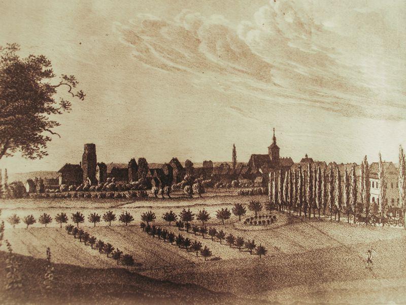 Stadtansicht historisch
