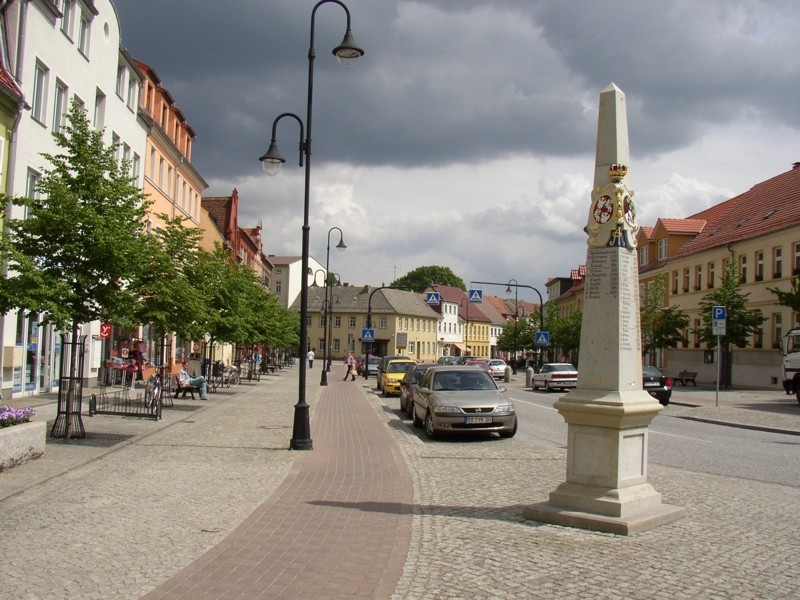 Postmeilensäule in Bad Liebenwerda